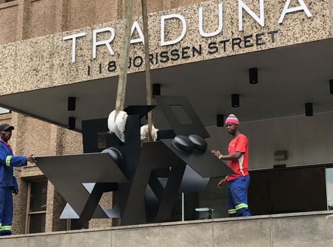 Monumental Artwork finds a space in Braamfontein